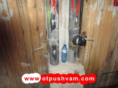 ревизии на вертикален канализационен щранг